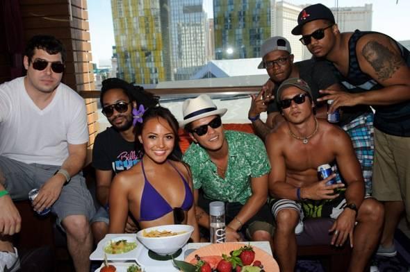 Bruno Mars_Marquee Dayclub