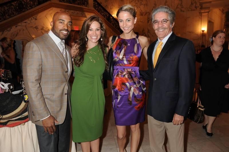 Tiki Barber, Erica Rivera, Traci Lynn Johnson and Geraldo Rivera