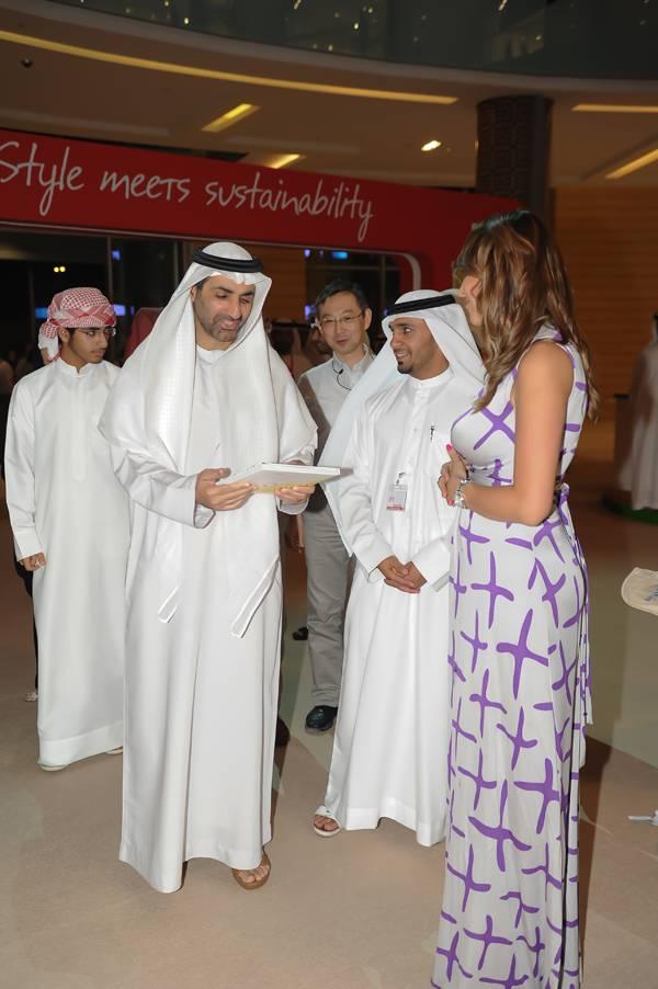 Hermoine Macura at EPIC Dubai Mall
