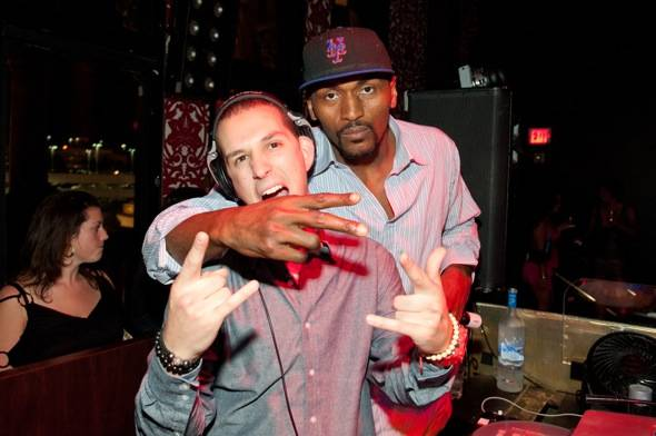 Eric Dlux and Ron Artest