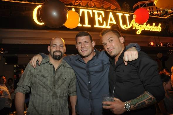 Ghosn, Bisping & McCullough at Chateau