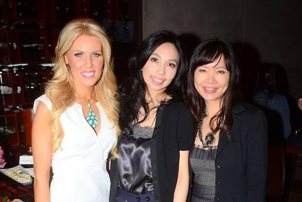 Gretchen Christine Rossi, Elizabeth An and Jenny Lee