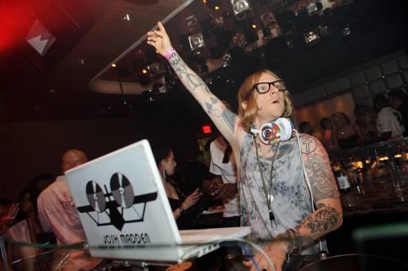 Josh Madden DJ at Marquee
