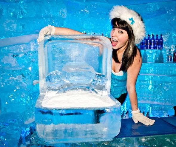 Minus5 Ice Bar Hostess