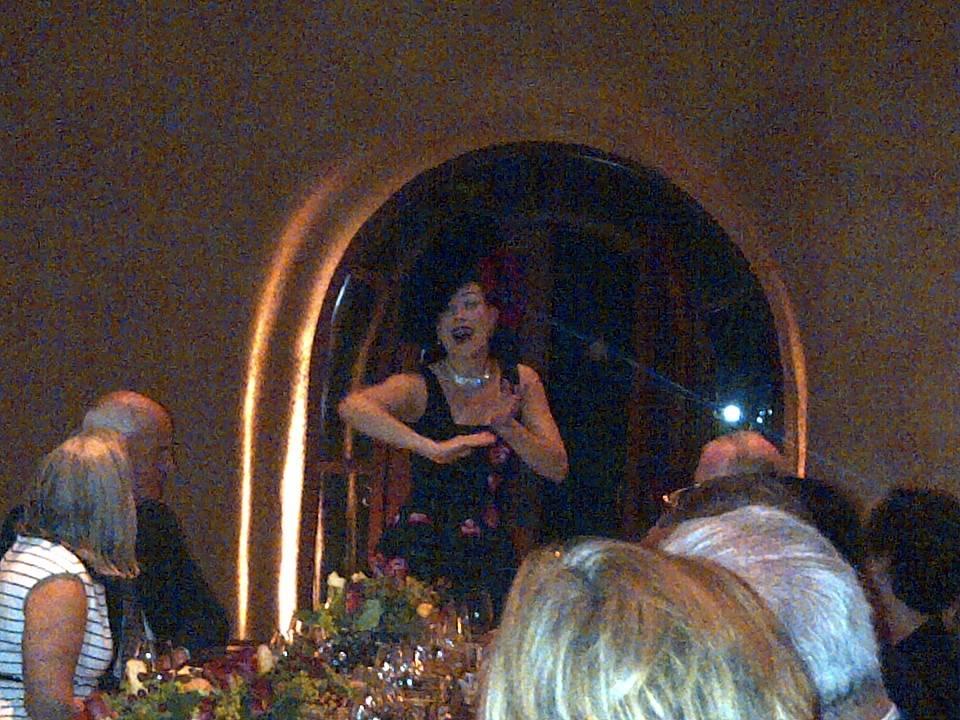 Los Angeles-based performer, Morganne
