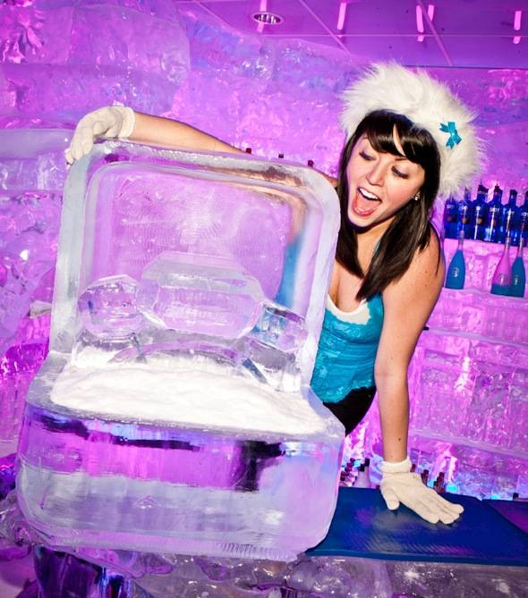 Minus5 Ice Bar Hostess