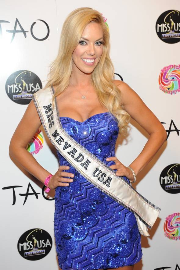 Miss Nevada Sarah Chapman at TAO