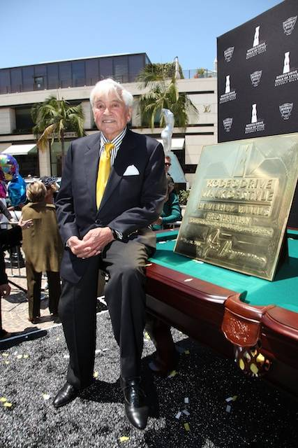 Fredy Hayman honored with Walk of Style Award