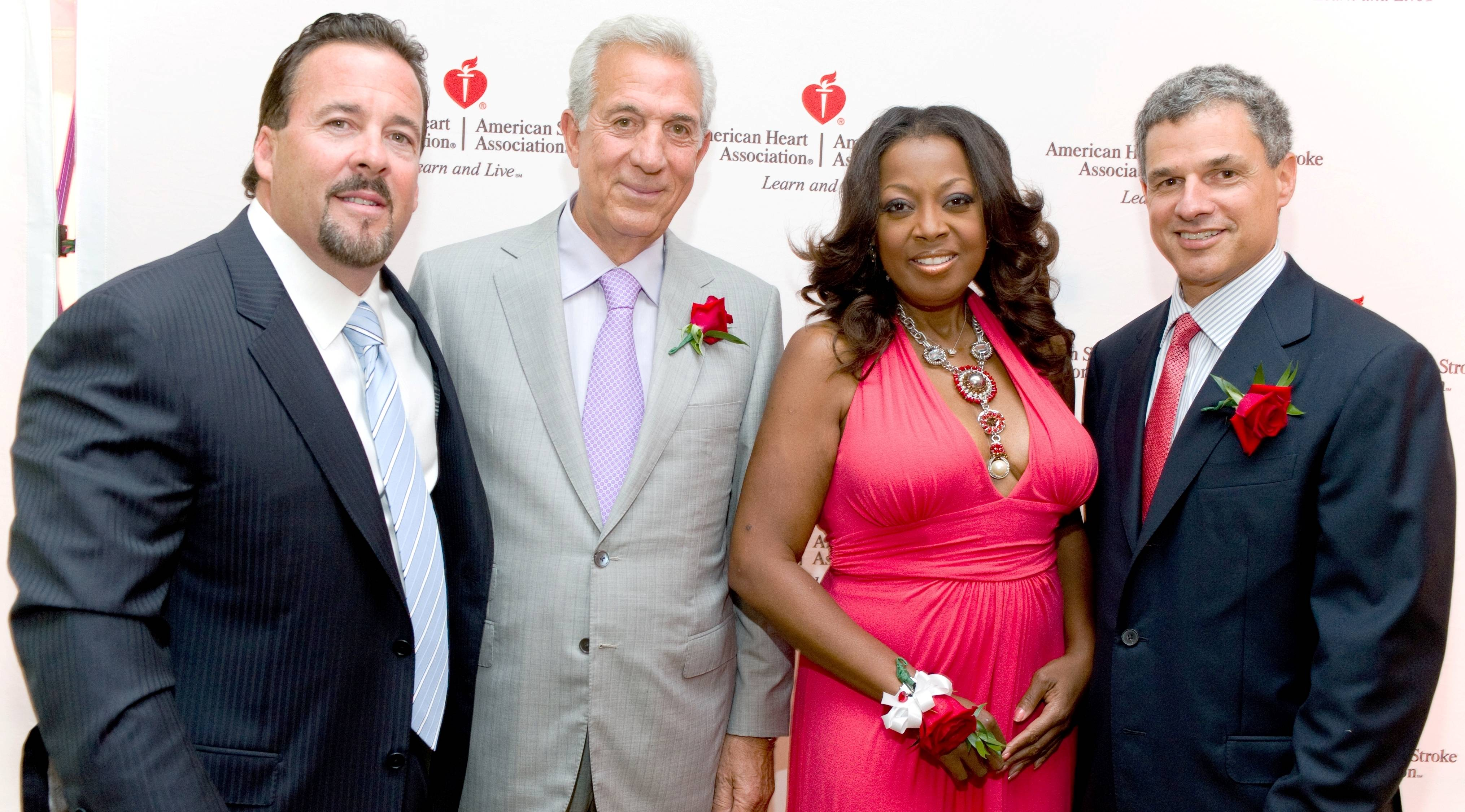 Robert McBride, Charles Gargano, Star Jones and Dr. Todd Rosengart
