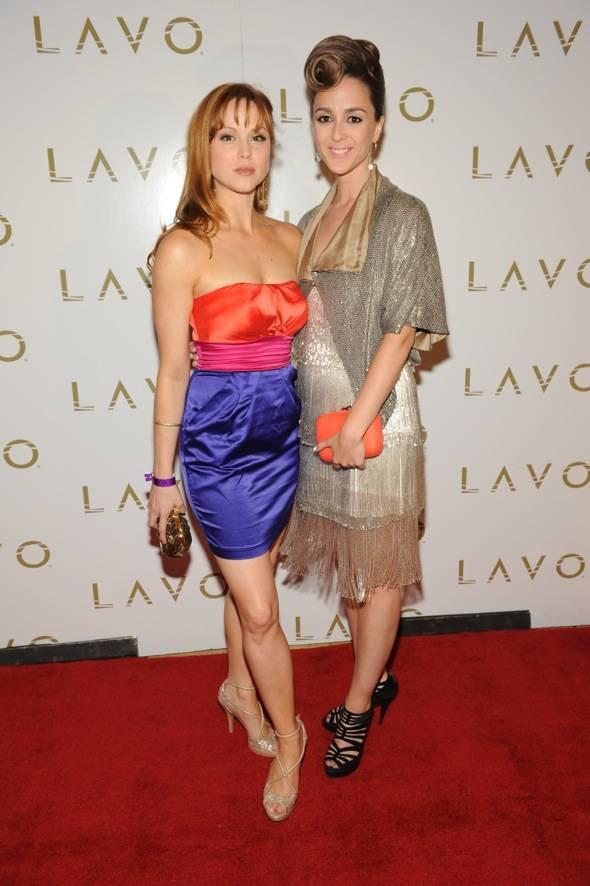 Sarah Glendening and Christina Lind at LAVO