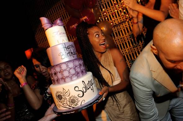 Solange Knowles_cake_LAVO