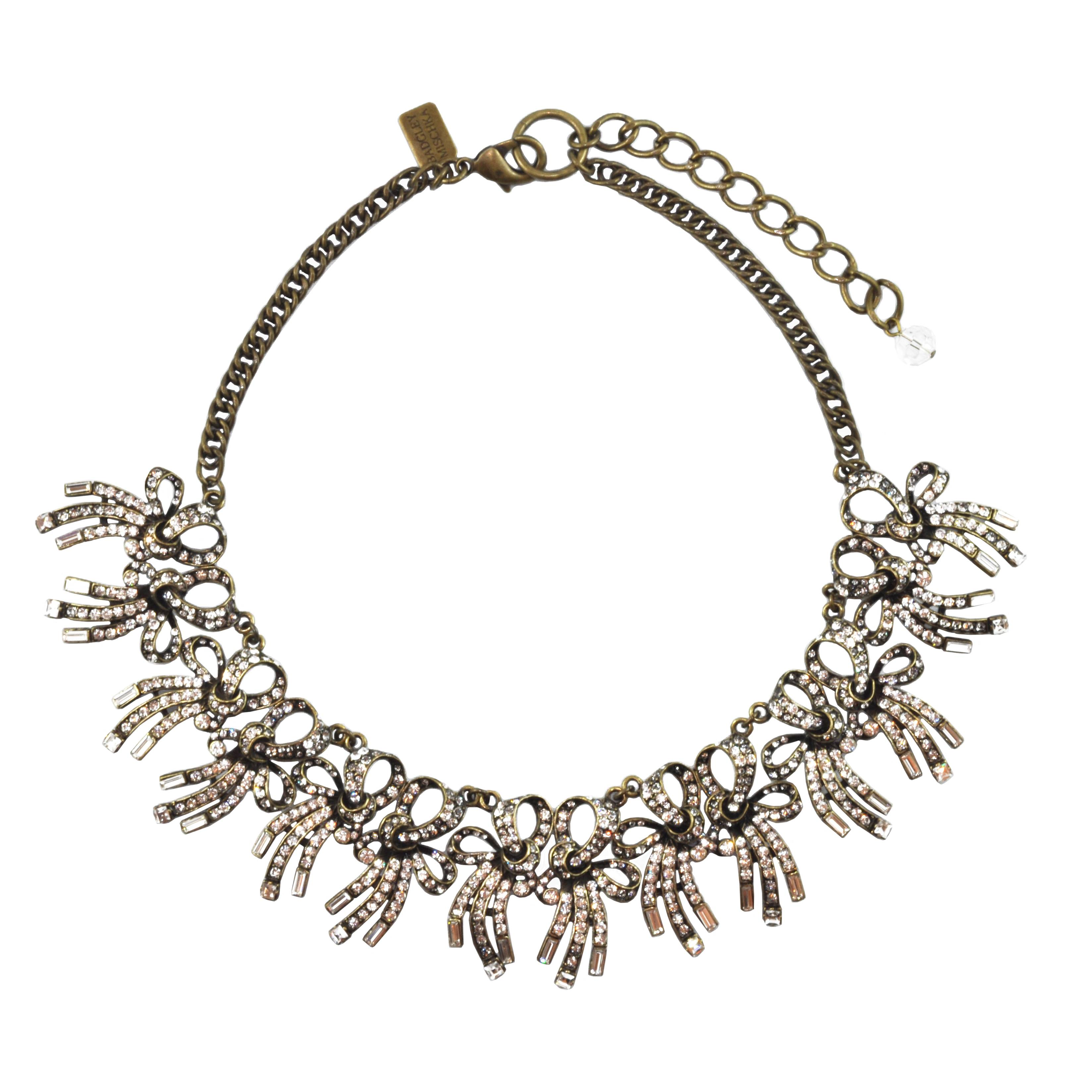 Sophie's Closet_Badgley Mischka_Multi Bow Necklace_AED 1880_£314.79
