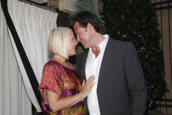 Tori Spelling and Dean McDermott at the Simon G Soiree at The Palazzo