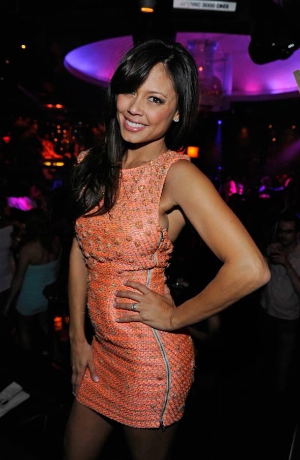 Vanessa Minnillo Celebrates Her Bachelorette at LAVO