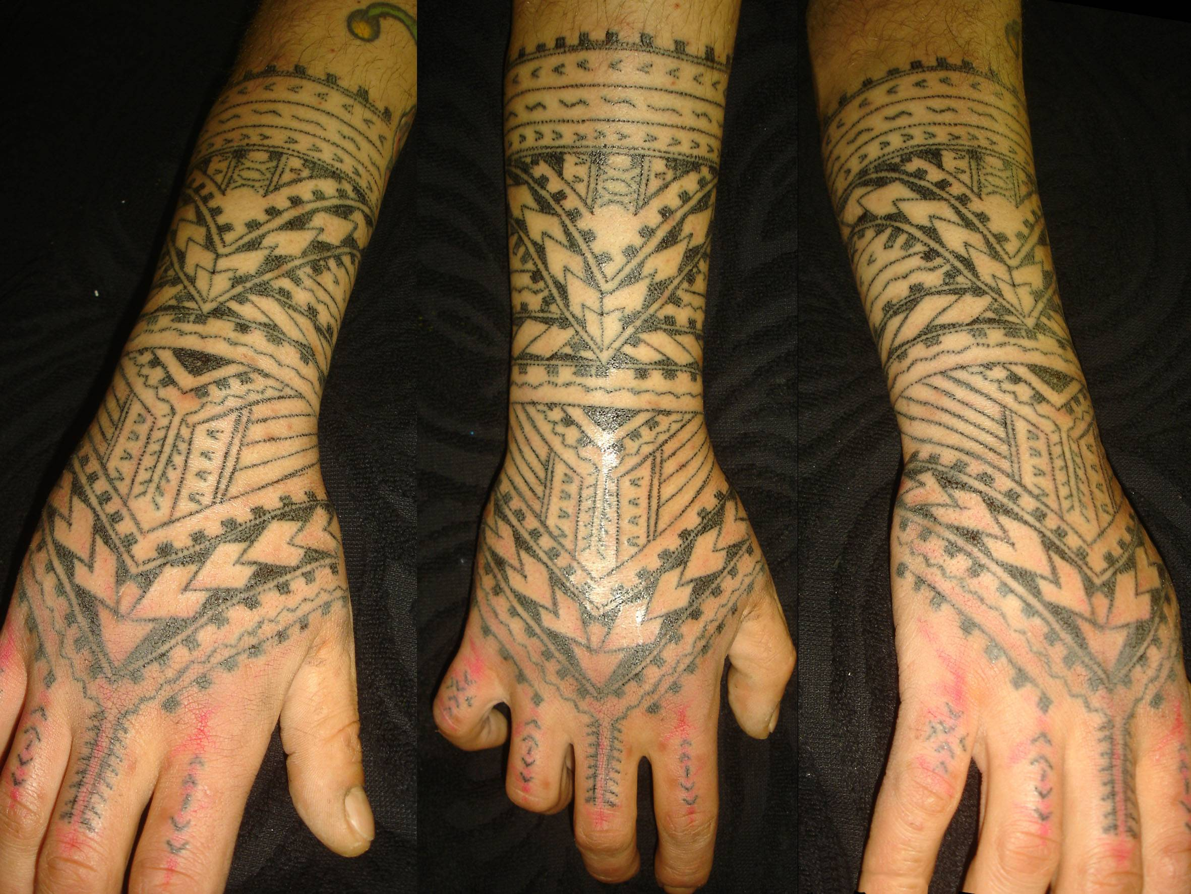 Traditional Polynesian Tattoo Motifs
