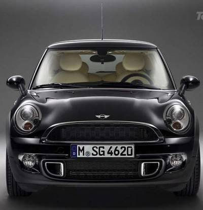 2011-MINI-Cooper-S-Black-Color-Front-Design-by-Rolls-Royce