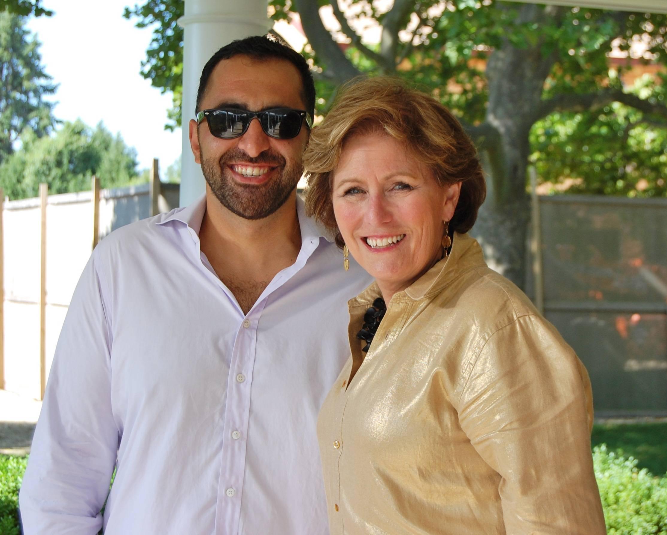 Ali Samadi & Kathleen Gunderman