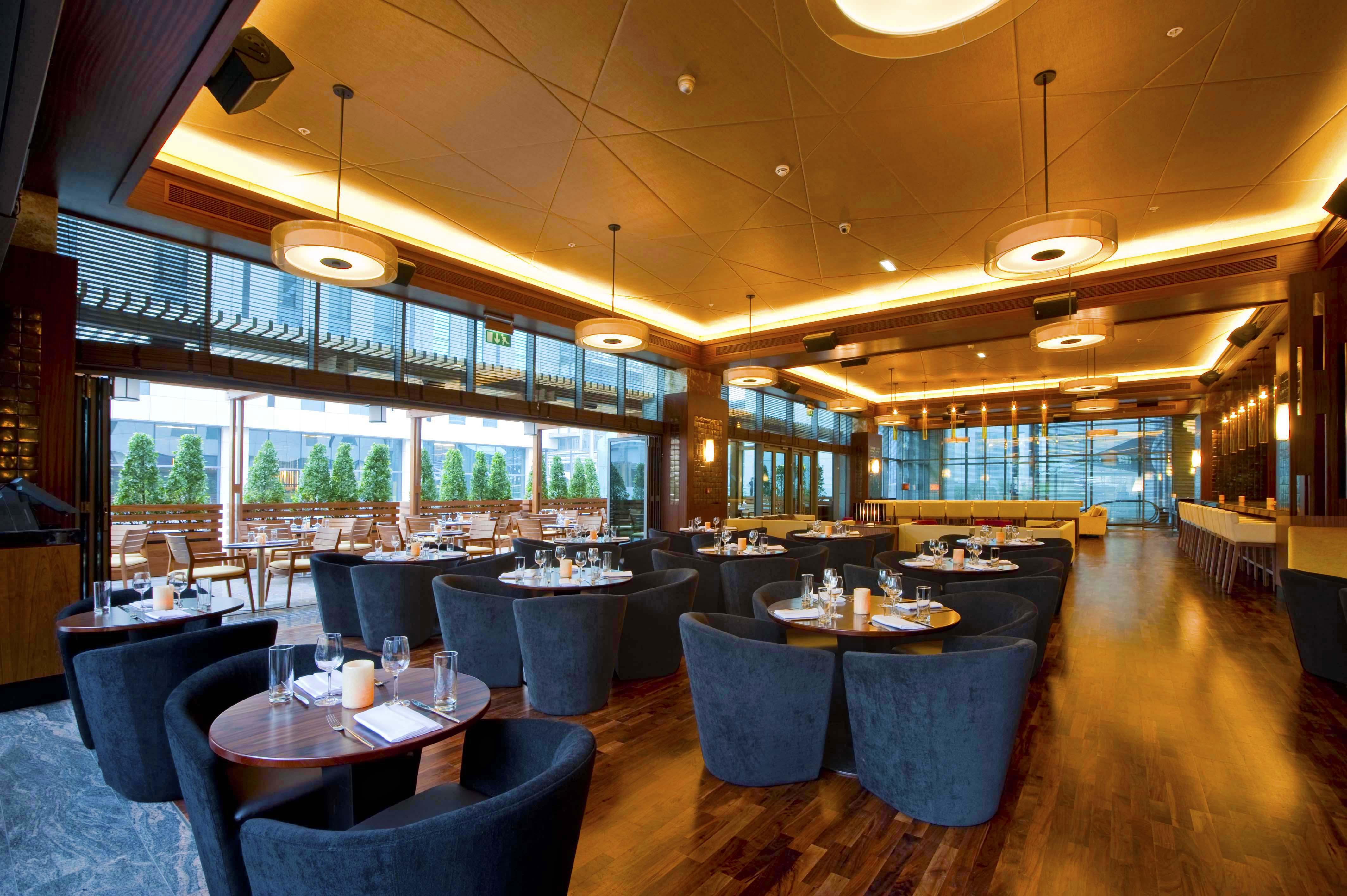 Caramel Restaurant & Lounge Interiors