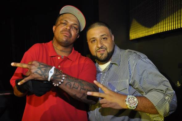 DJ Khaled and DJ Paul at Chateau