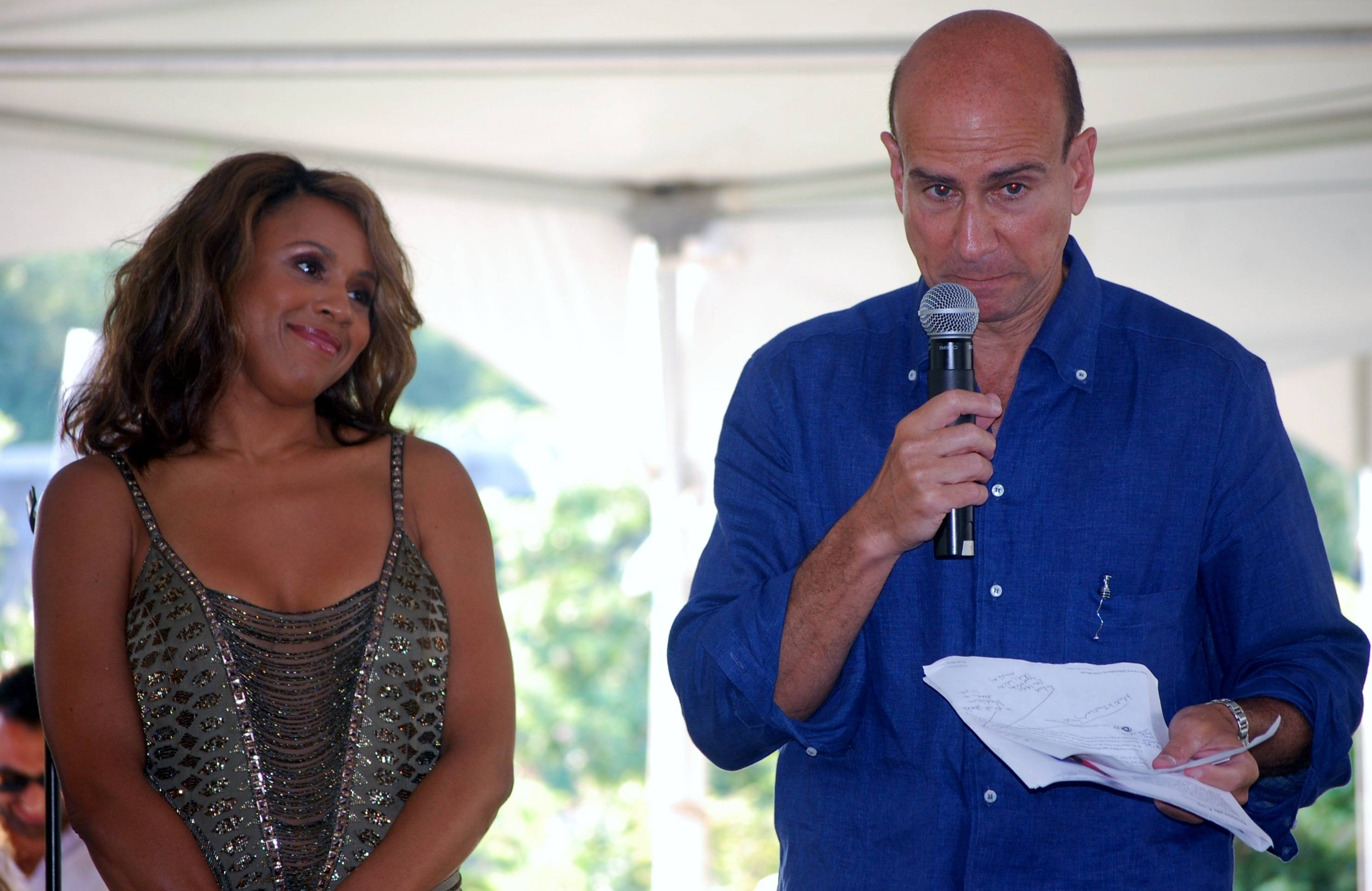 Deborah Cox and George Hornig