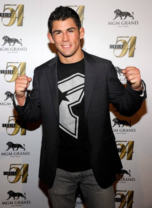 Dominck Cruz on Carpet at Studio 54 After UFC 132 Win, Las Vegaqs, 7.2.11