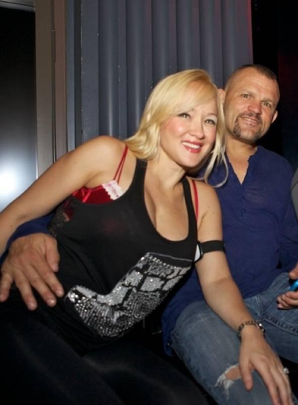 Heidi Northcott and Chuck Liddell at Chateau