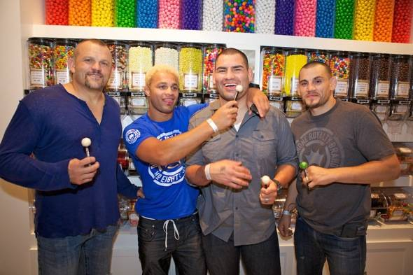Liddell, Koscheck,Velasquez and Fitch
