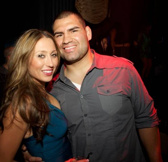 Michelle and Cain Velasquez at Chateau