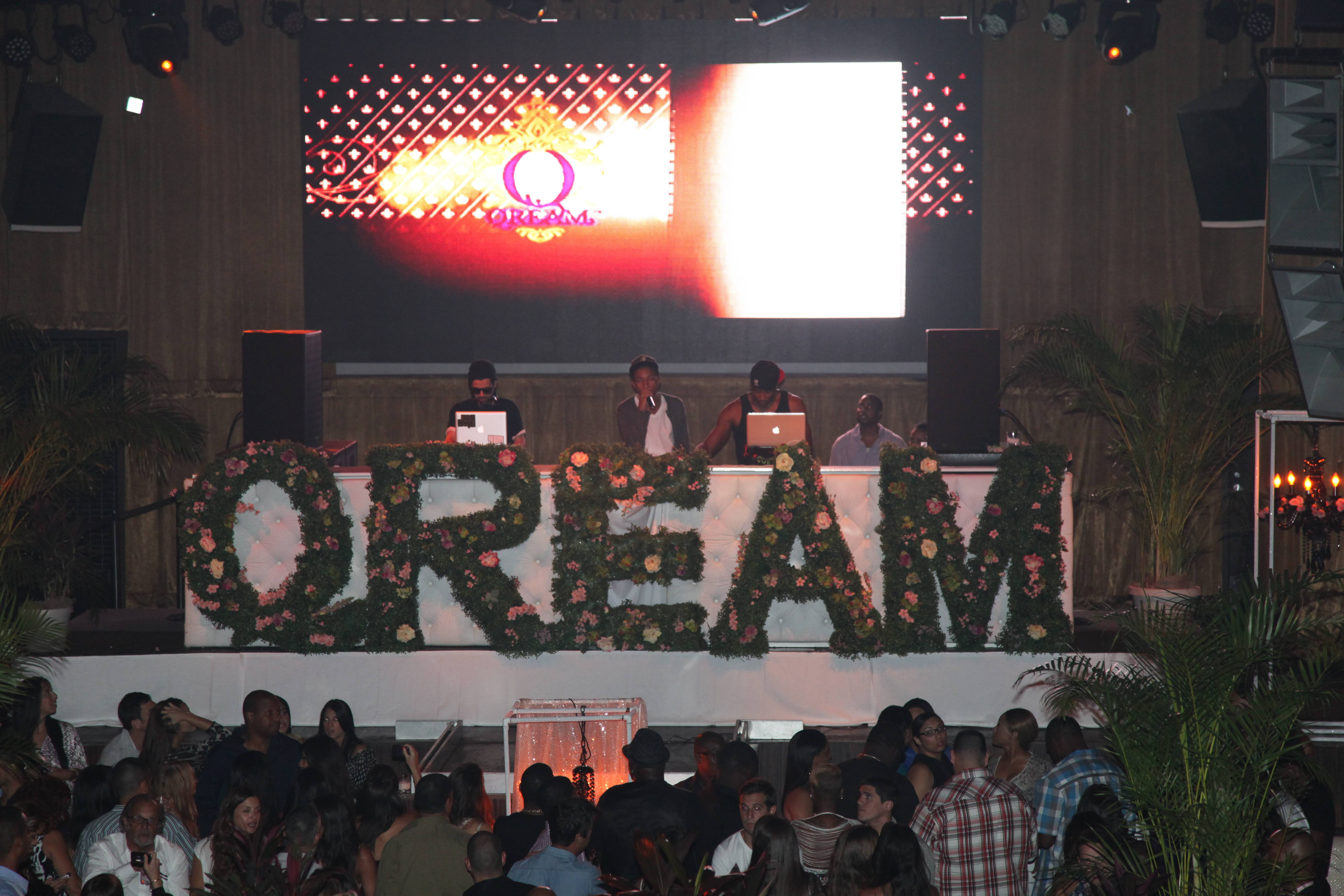 Pharrell Adressing Guests At QREAM WITH A Q Miami Launch Event With Jus Ske And Q-Tip_By Johnny Nunez