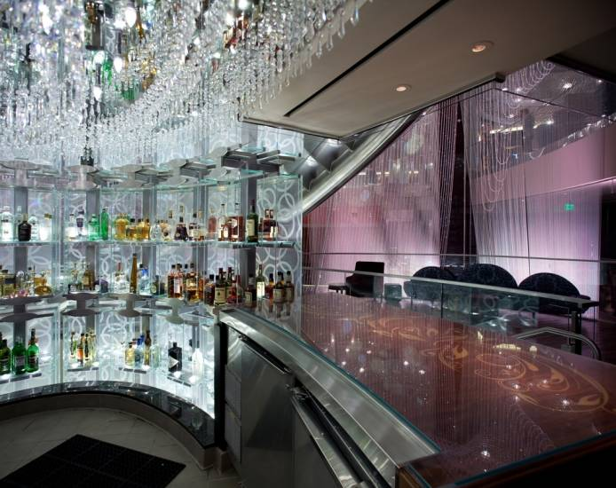 The Cosmopolitan Hotel\'s Chandelier Bar in Las Vegas - Haute Living