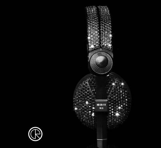 Swarovski-headphones