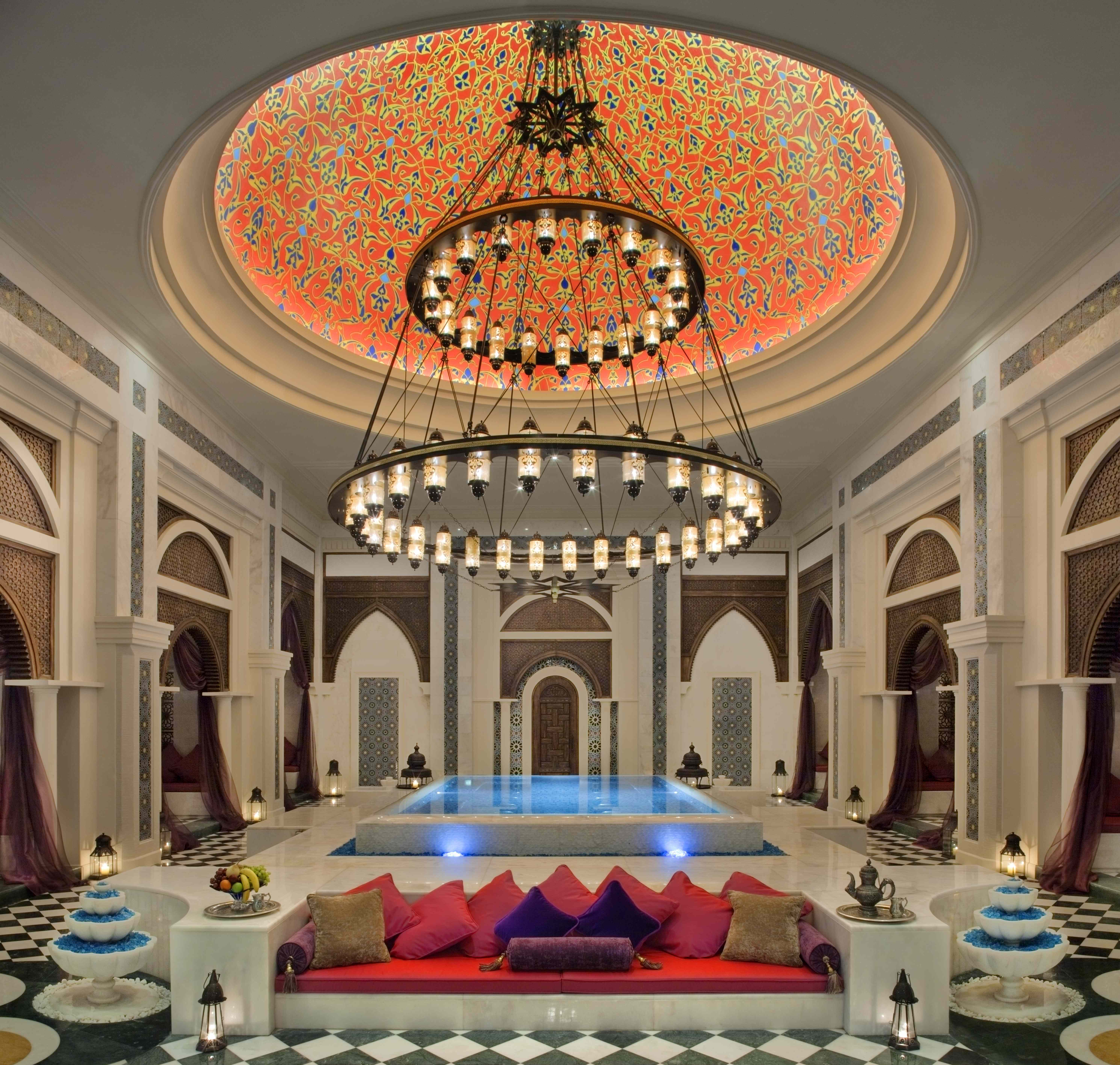 Dubai Sauna: Turkish Luxuries: Talise Ottoman Spa