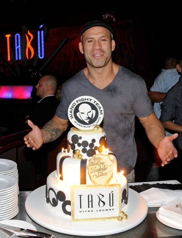 Wanderlei Silva Celebrates 35thBirthday at Tabu Ultra Lounge, Las Vegas, 7.2.11