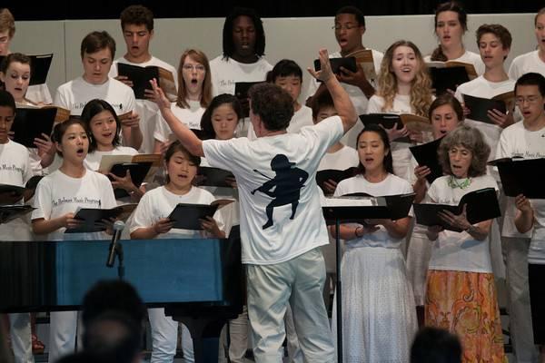 Watt_Maestro Patrick Romano conducts The Perlman Music Program Chorus