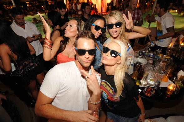 XS - Holly Madison Josh Strickland Angel Porrino and friends