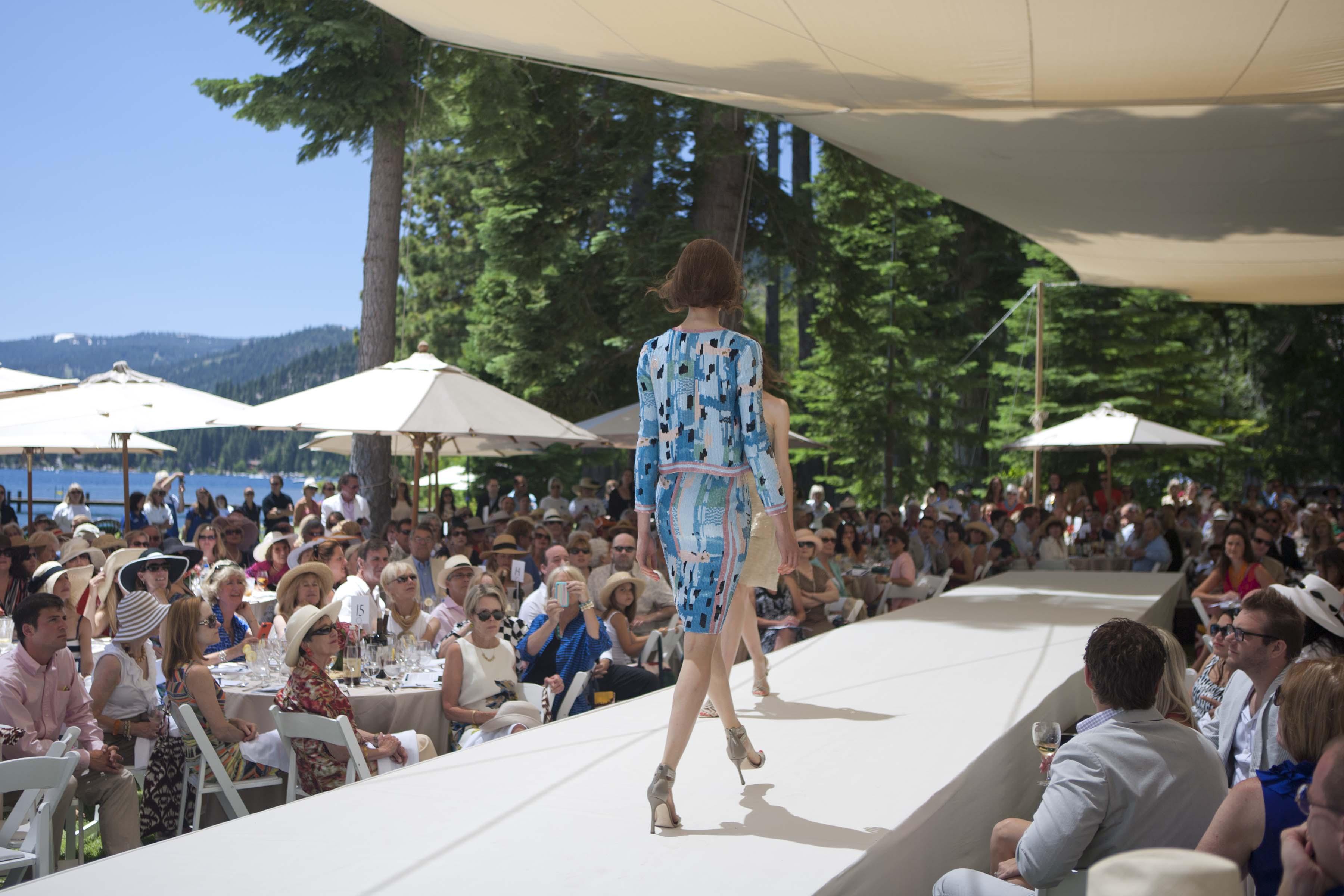 Fritz Estate Lake Tahoe Fashion Show