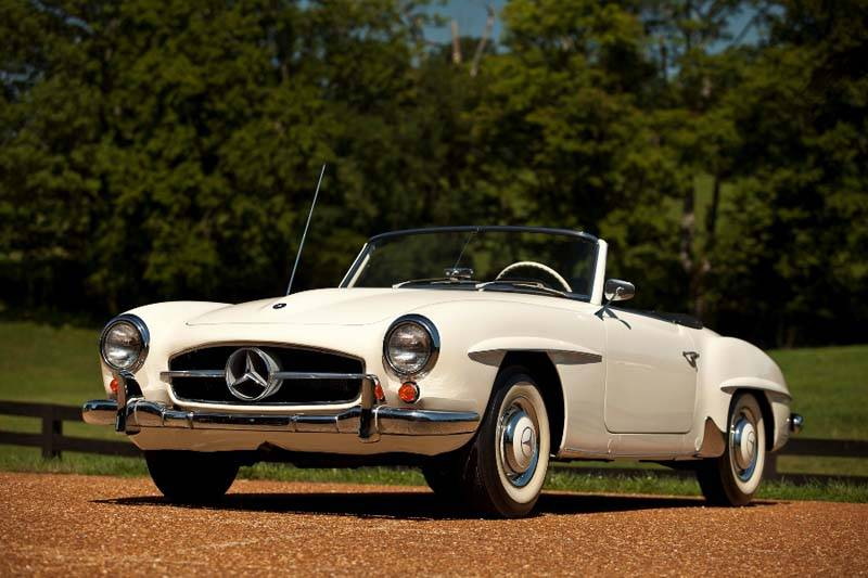1959 Mercedes-Benz 190 SL_Scott Nidermaier
