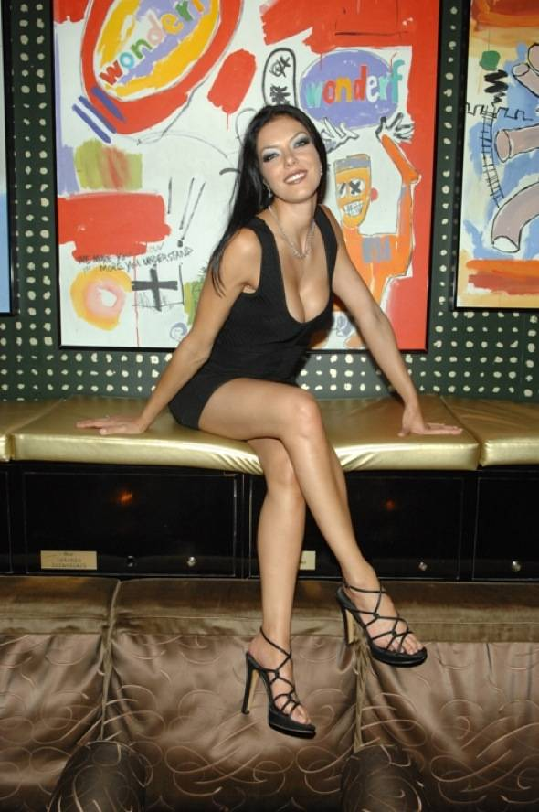 Adrianne Curry at Blush 8.05.2011