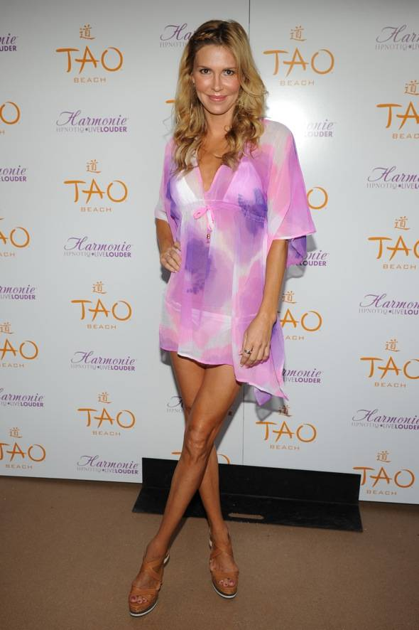 Brandi Glanville at TAO Beach for Single and Fabulous Party with Hpnotiq Harmonie