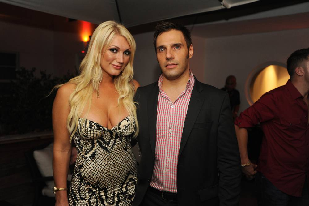 Brooke Hogan and Axel Gasser at Hotel Breakwater