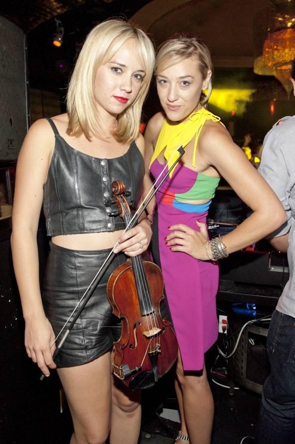 Caitlin Moe and DJ Mia Moretti
