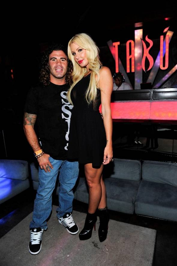 Clay Guida and Charis Burrett at Tabu Ultra Lounge, Las Vegas 8.22.11