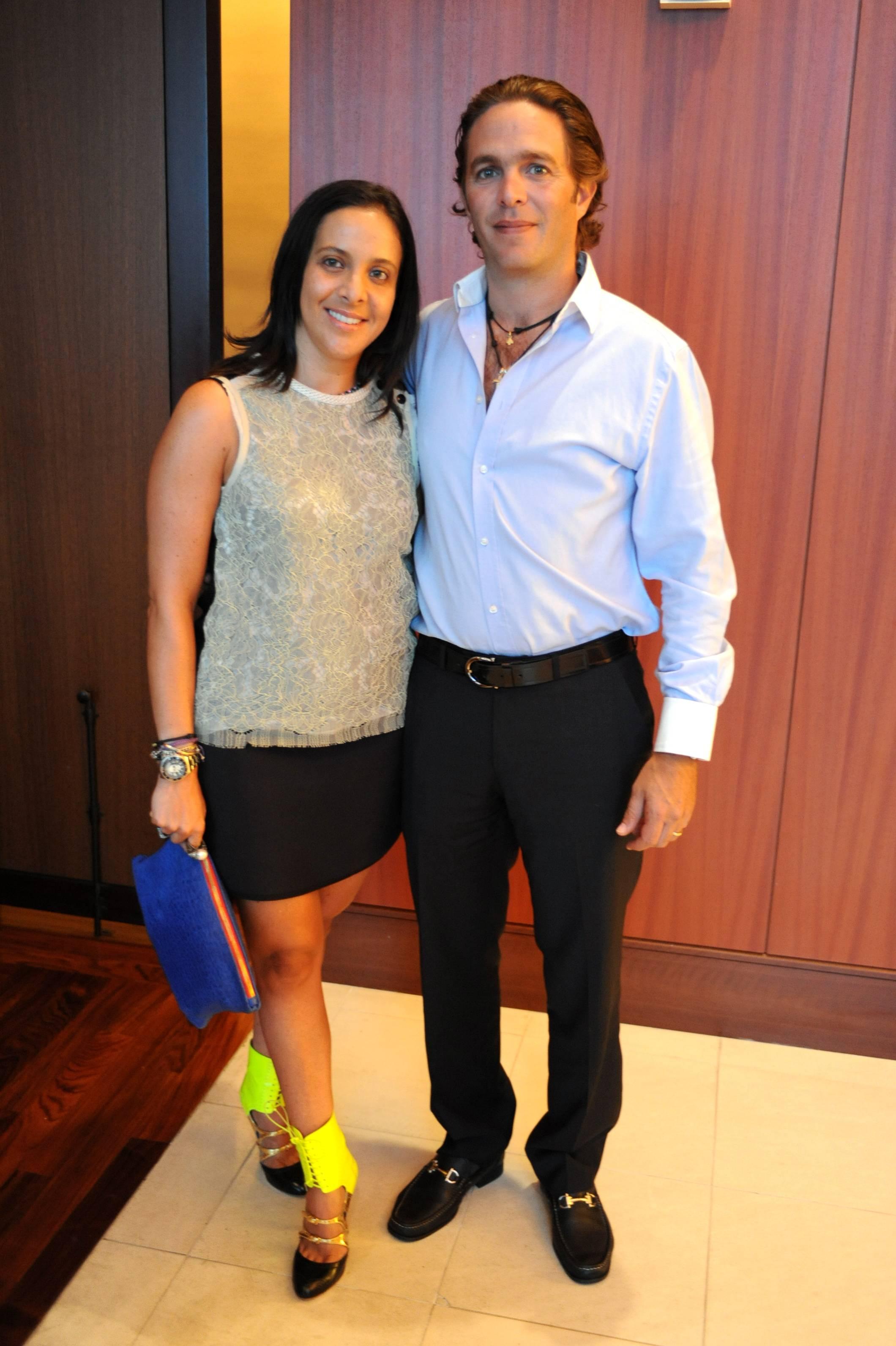 Fernanda and Pedro Domit