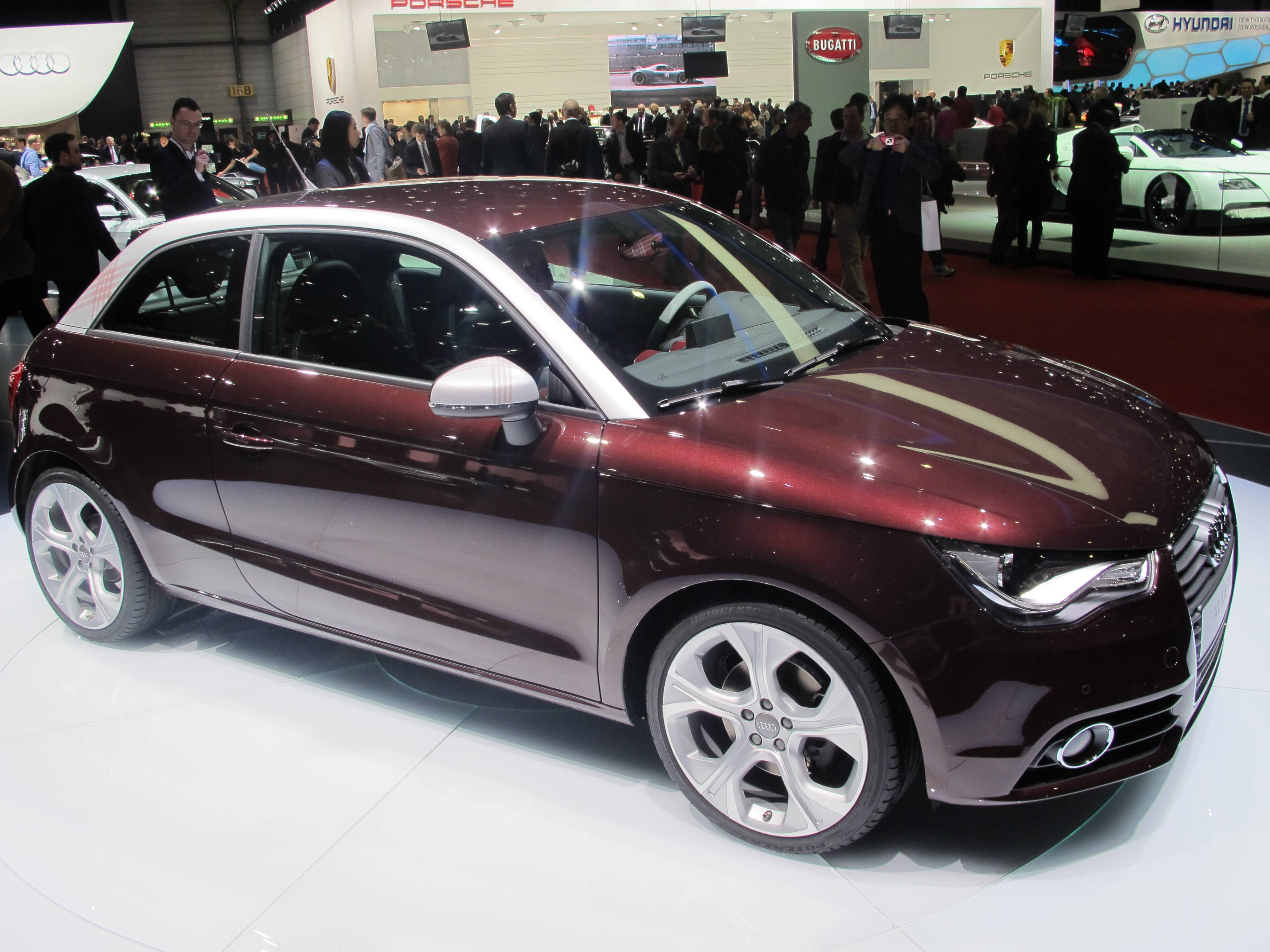 Geneva Motor Show - Audi A1
