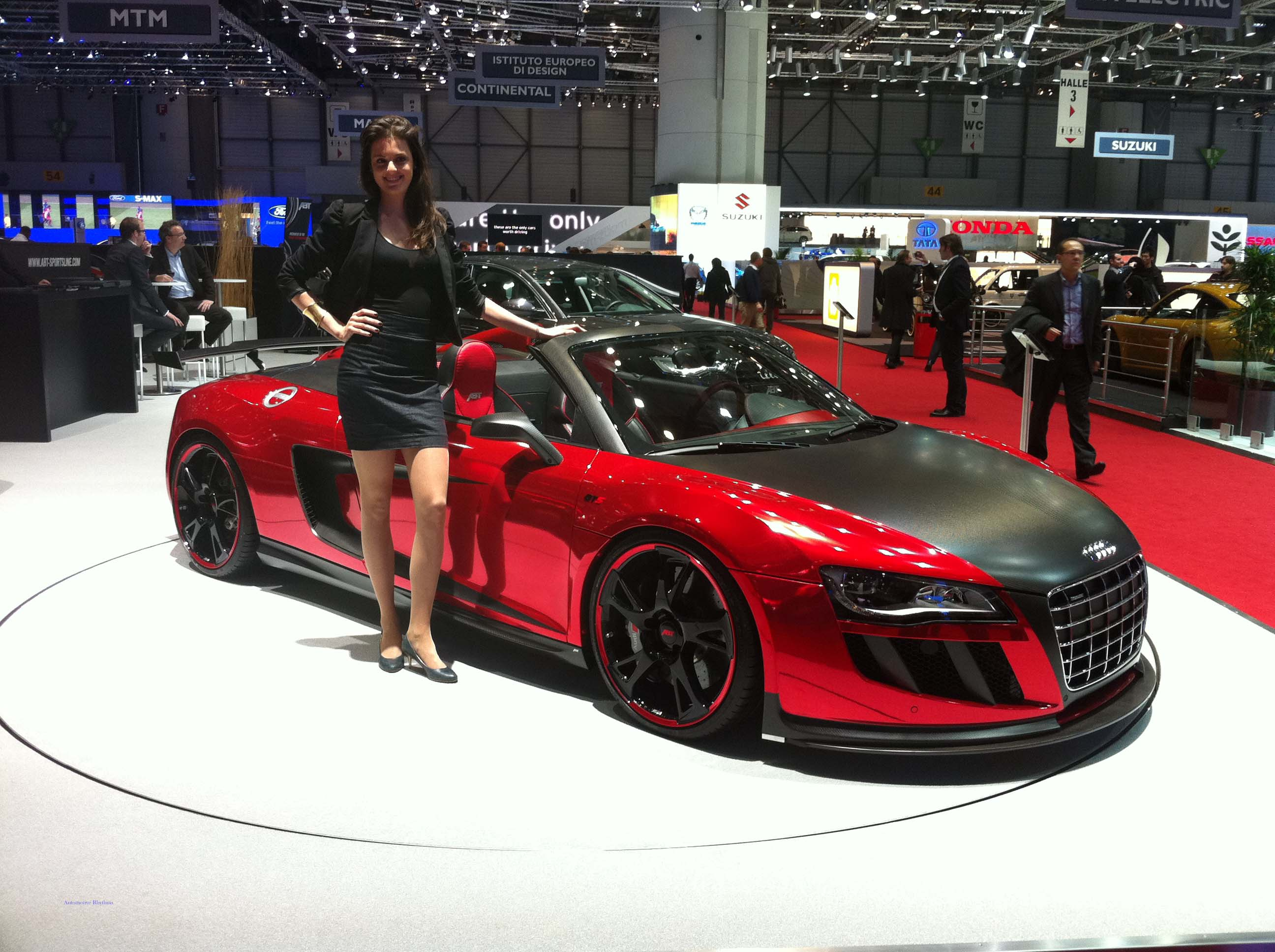 Geneva Motor Show - Custom Audi R8 Spyder