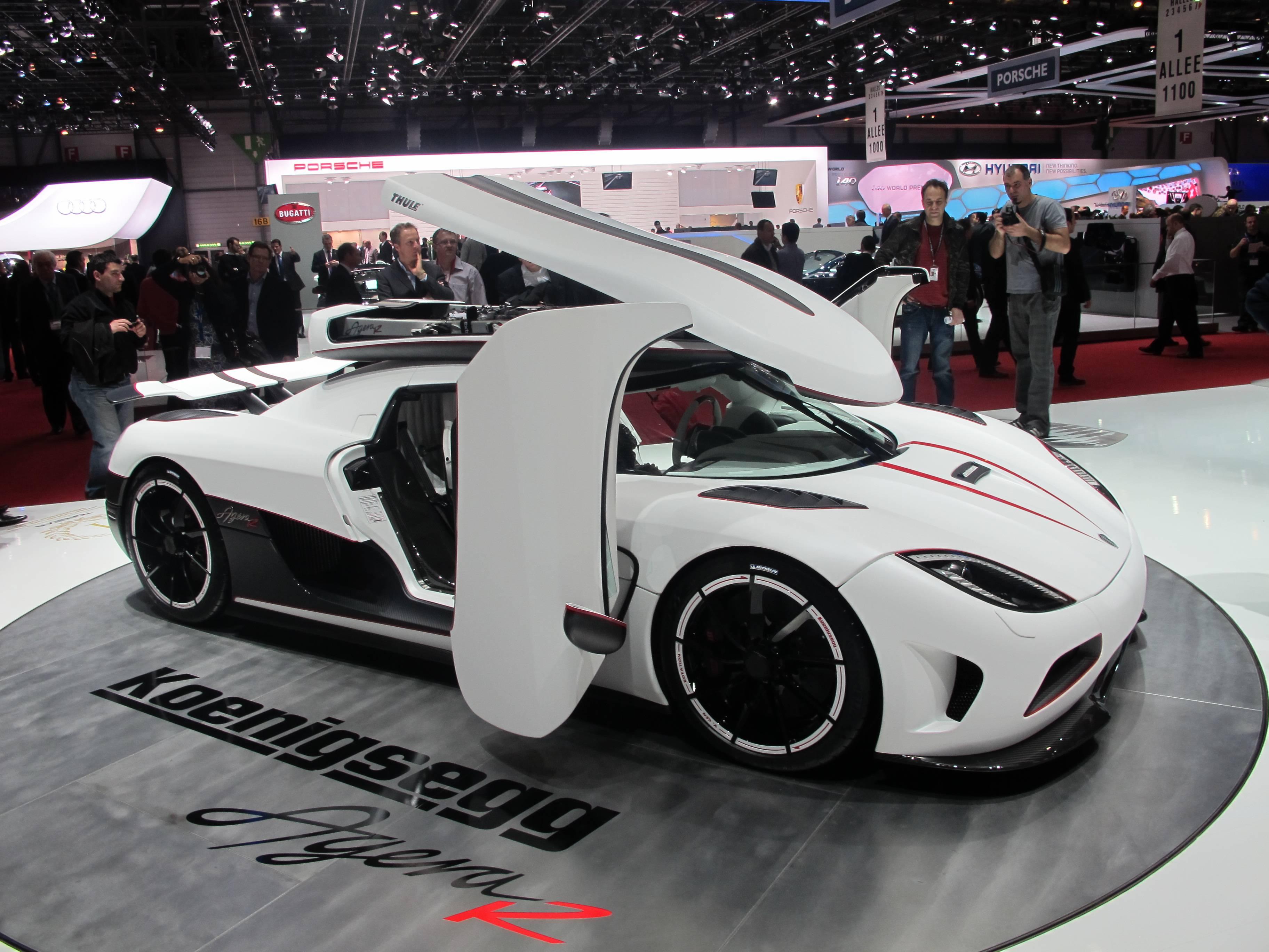 Geneva Motor Show - Koenigsegg Agera R