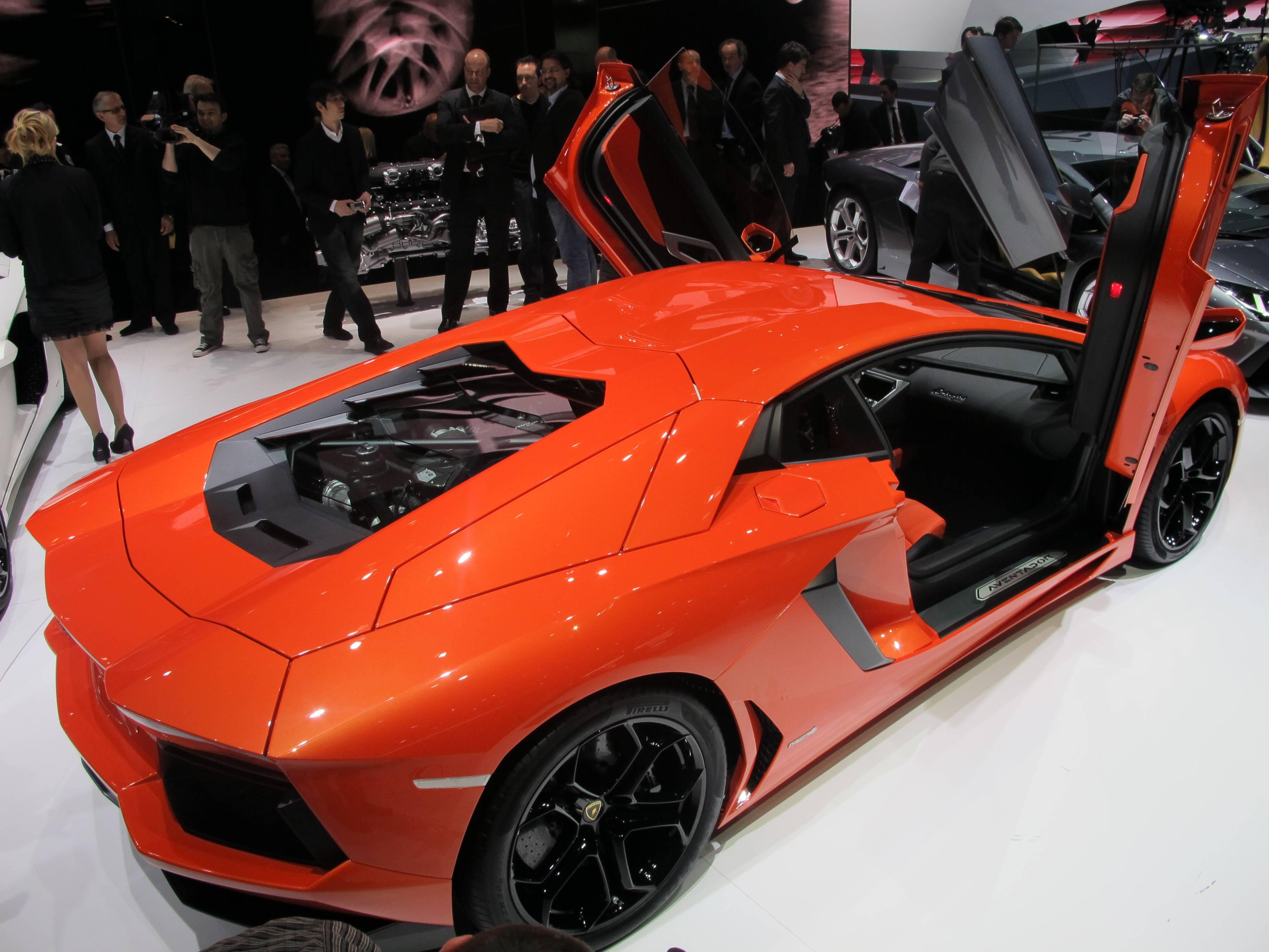 Geneva Motor Show - Lamborghini Aventador LP 700-4