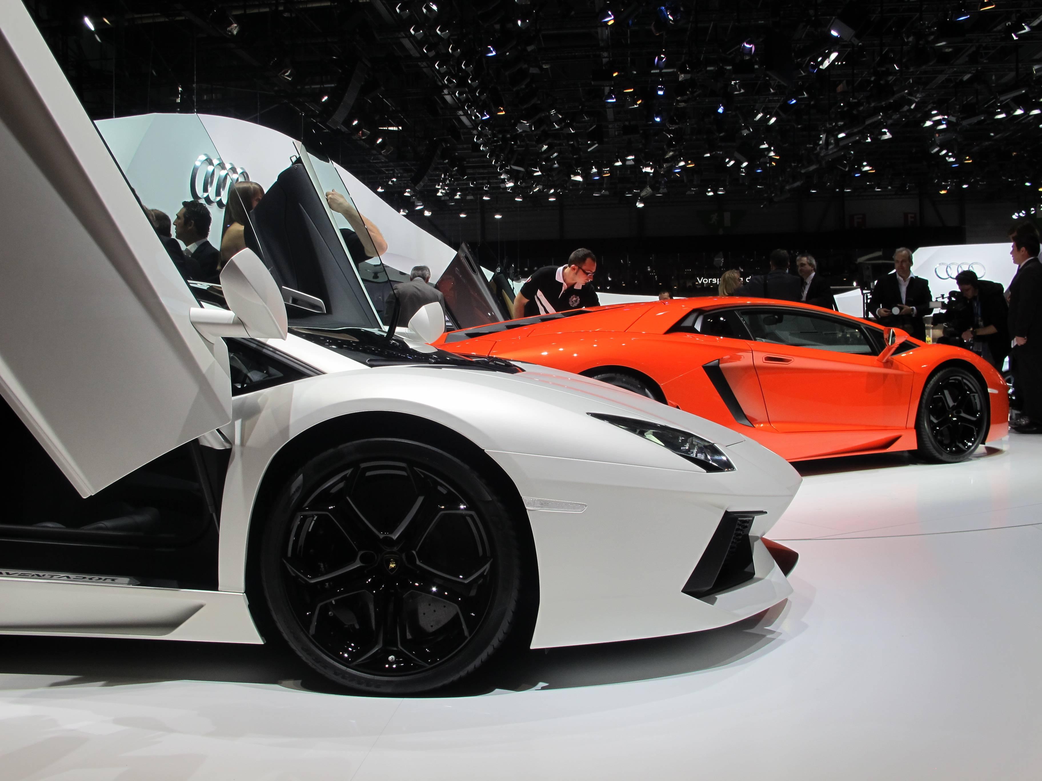 Geneva Motor Show-Lamborghini Aventador LP 700-4