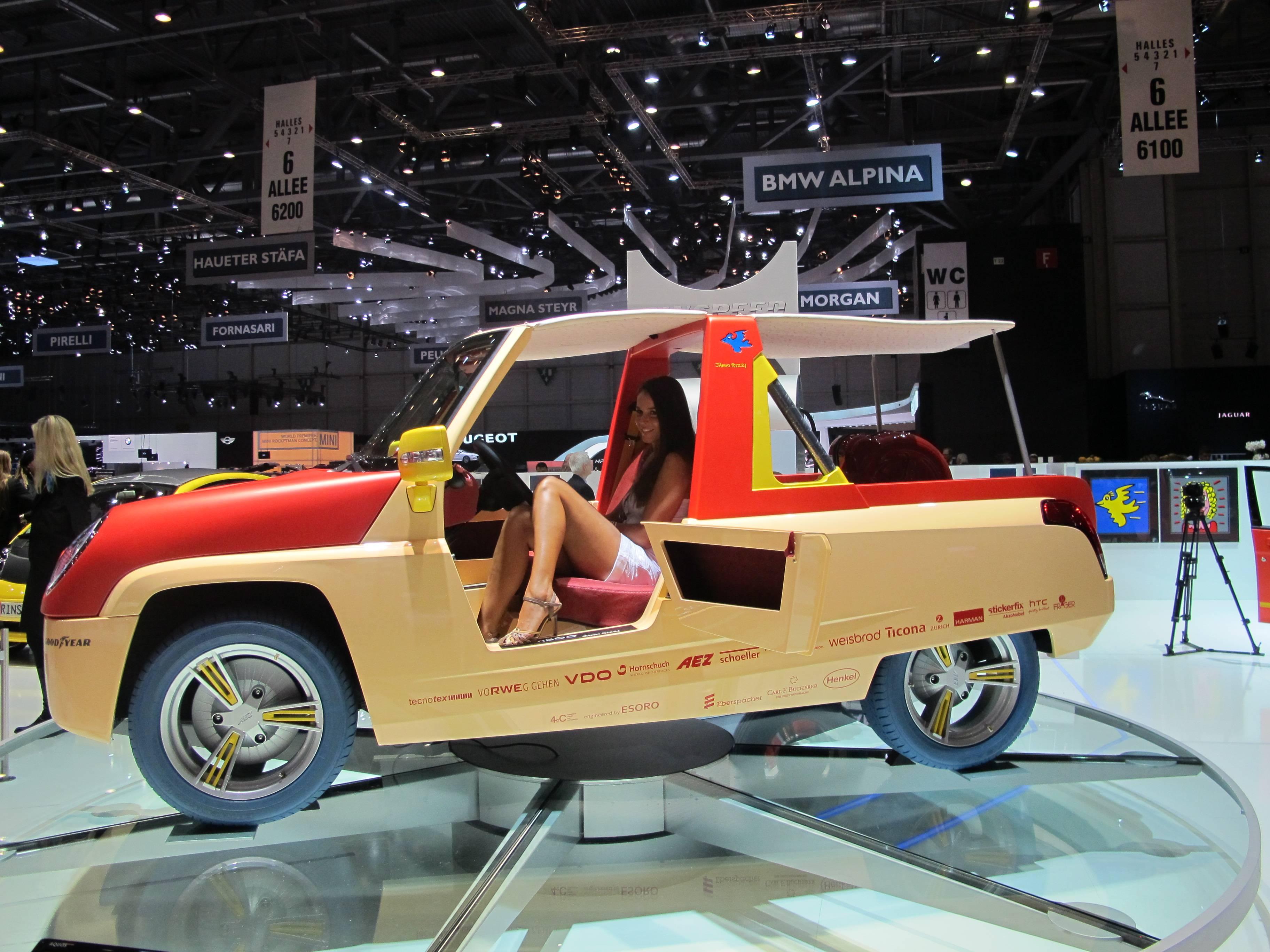 Geneva Motor Show - Rinspeed BamBoo