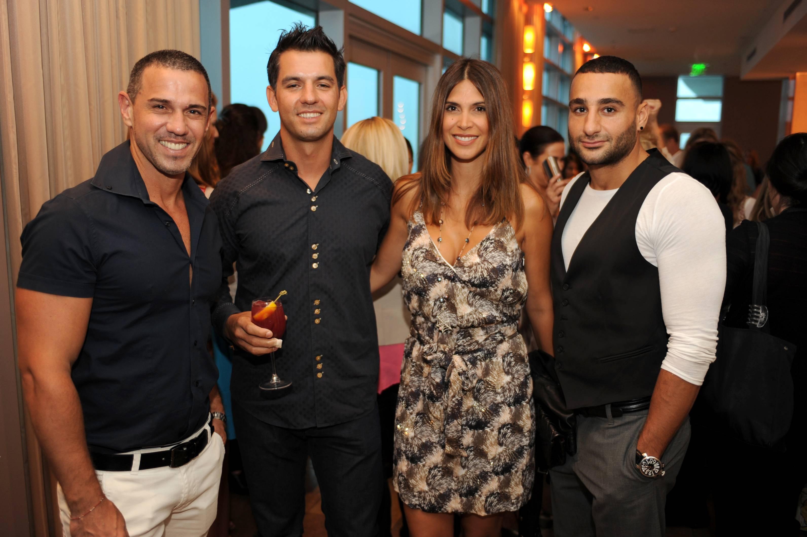 Hernan Arriaga, Fabio Lopes, Alejandra Torres and Mr. Chebat